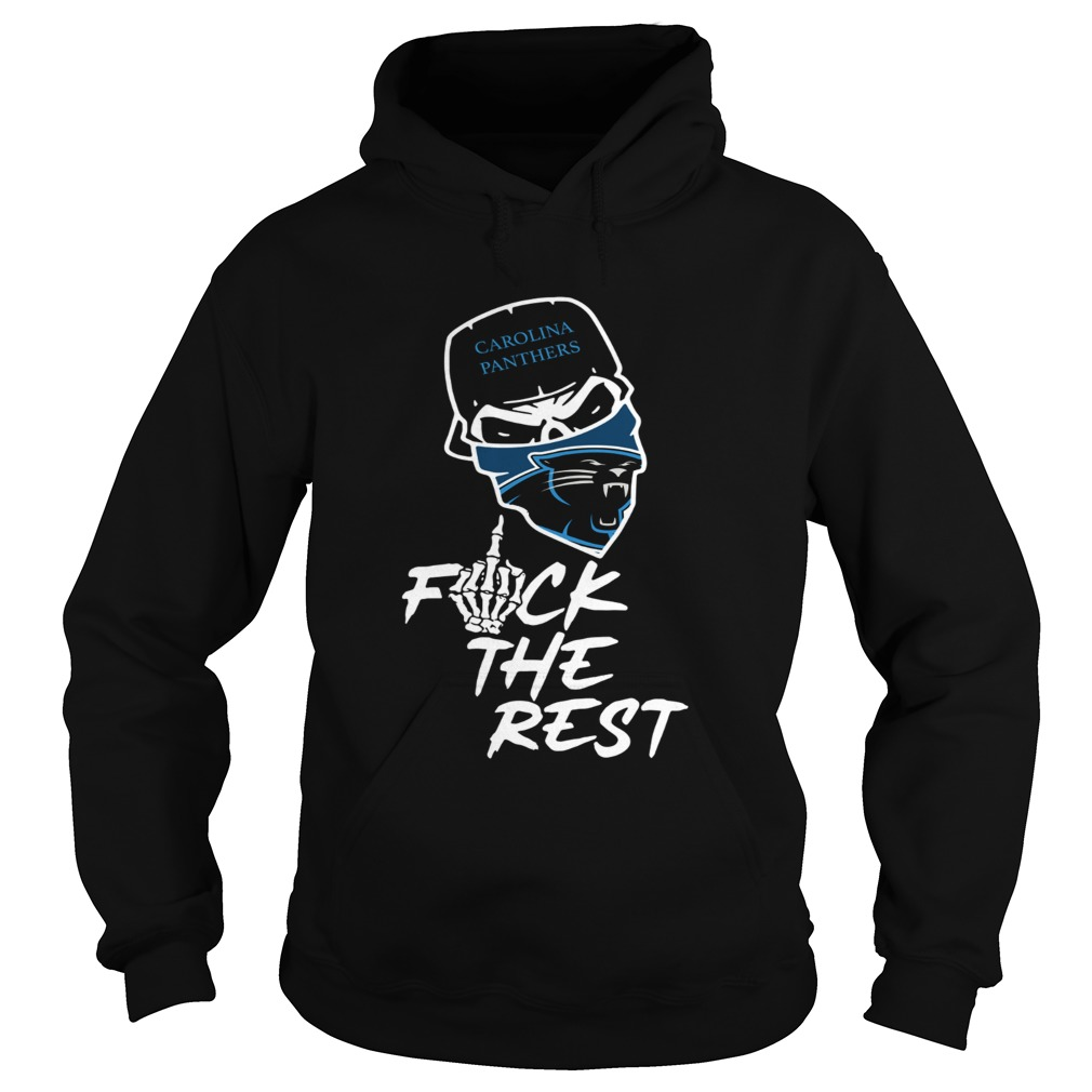 Carolina Panthers fuck the rest Hoodie