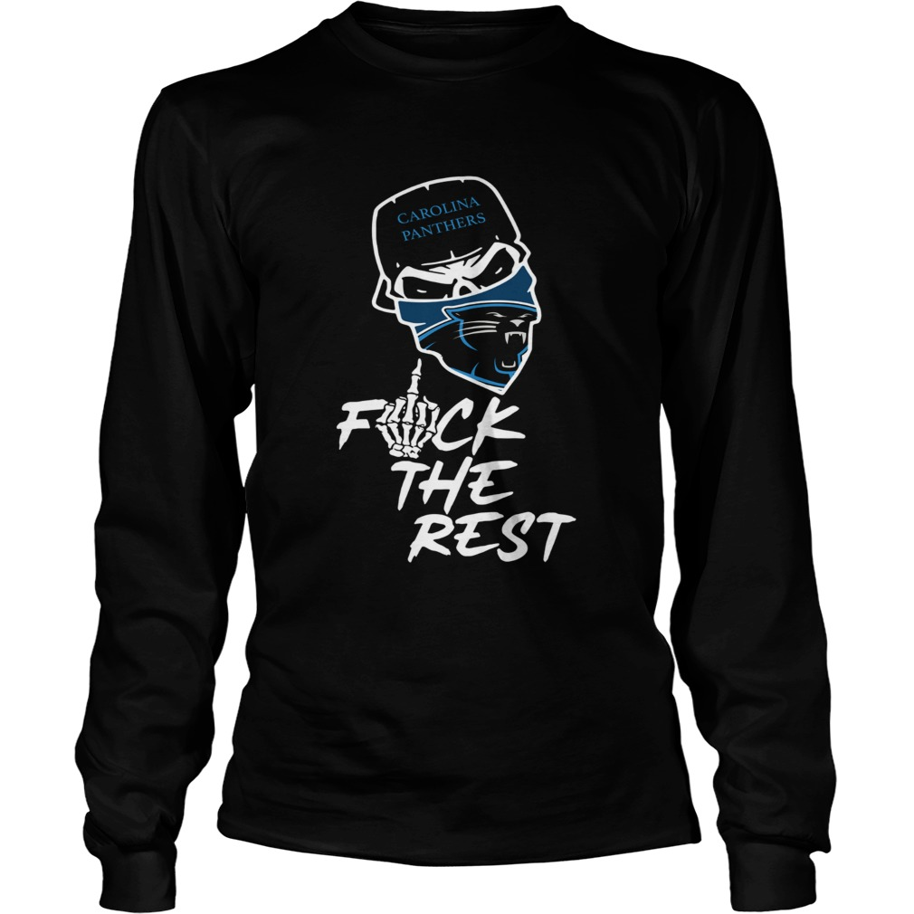 Carolina Panthers fuck the rest LongSleeve