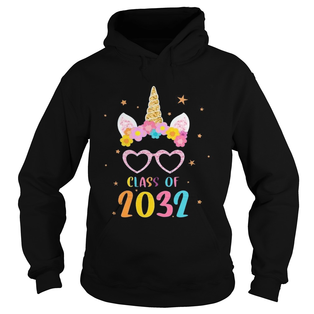 Class Of 2032 Grow With Me First Day Of School Kid TShirt Hoodie