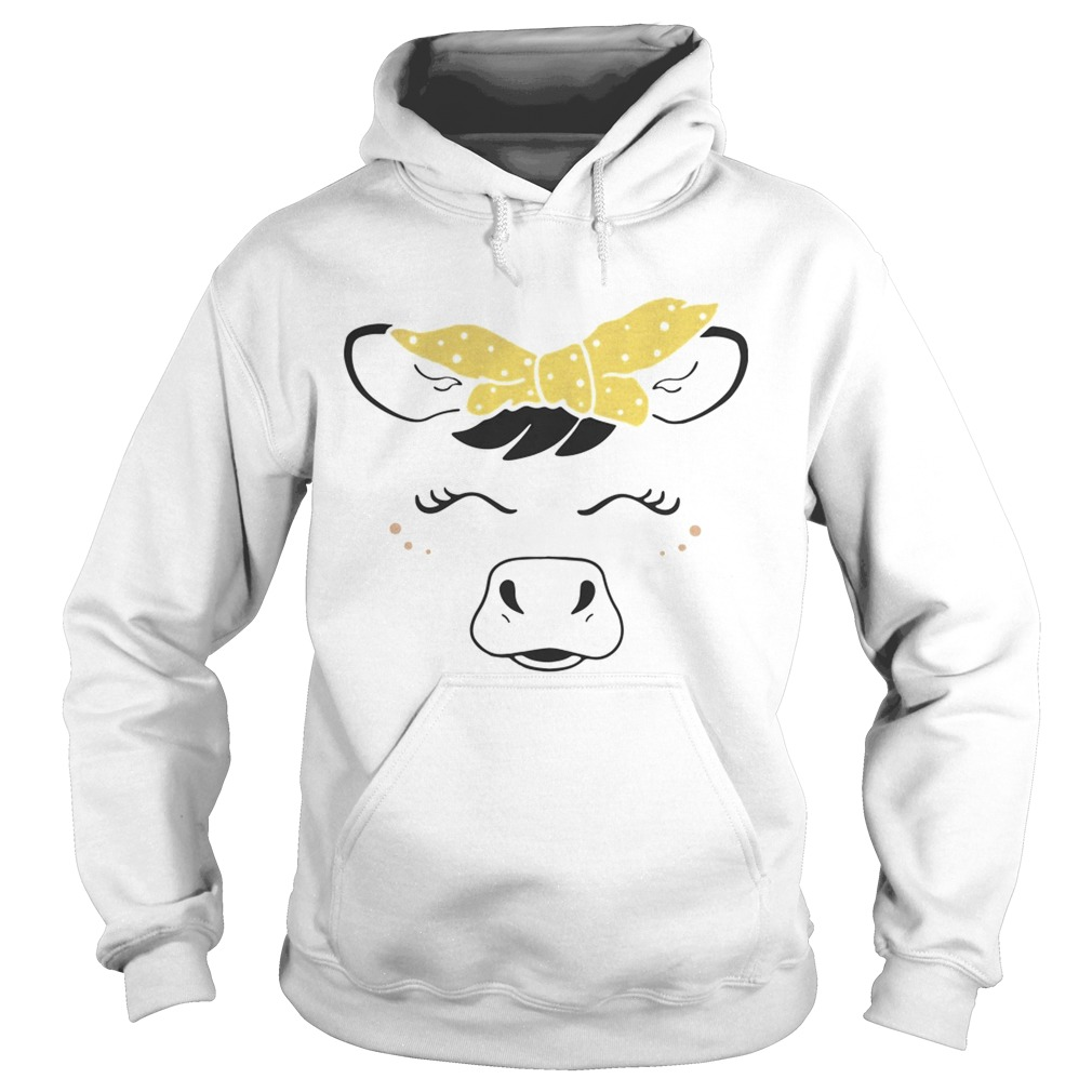 Cow bow  Hoodie