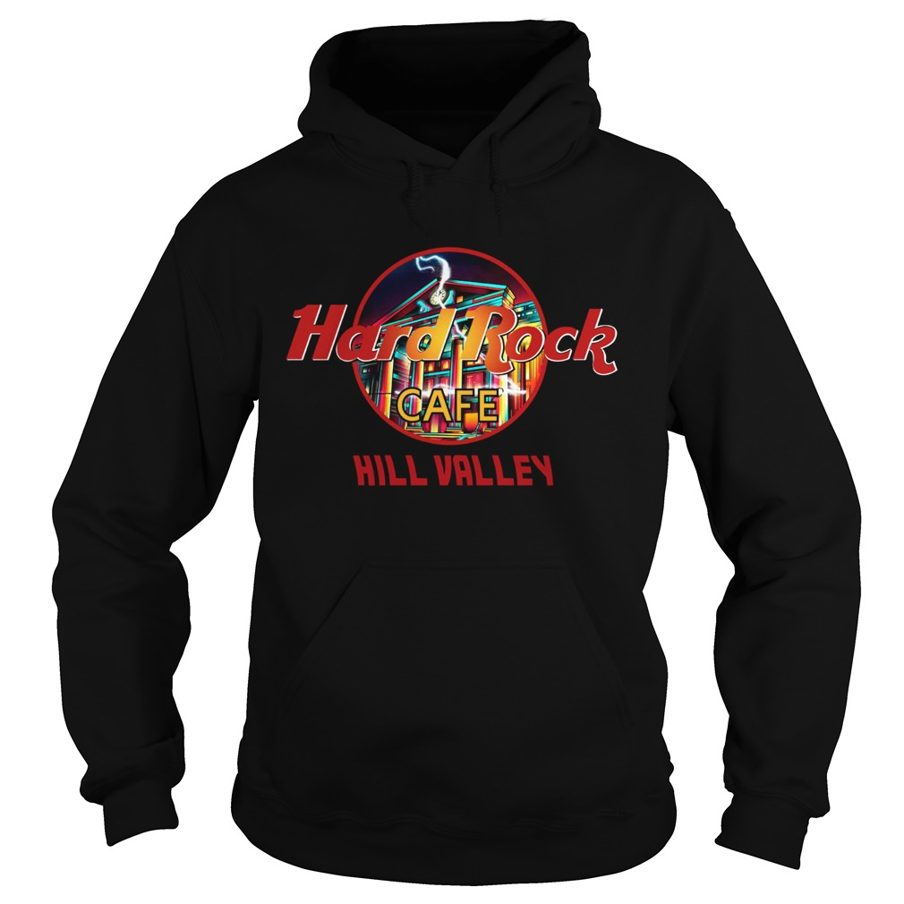 Hard rock cafe Hill Valley Hoodie
