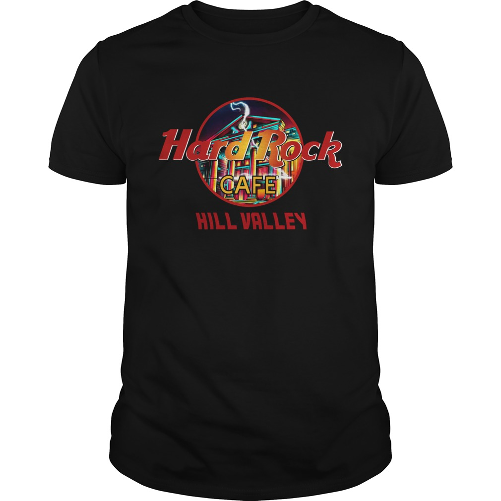 Hard rock cafe Hill Valley Unisex
