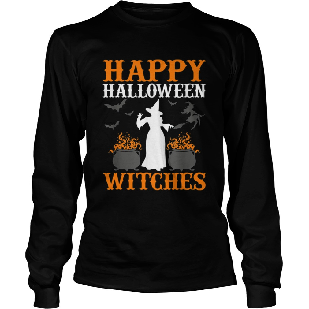 Hot Happy Halloween Witches Cute Spell Casting Witch LongSleeve