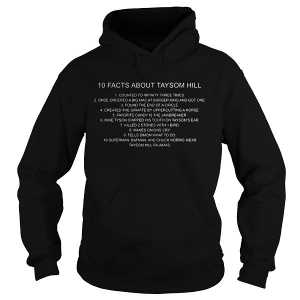 10 Facts About Taysom Hill Shirt Hoodie