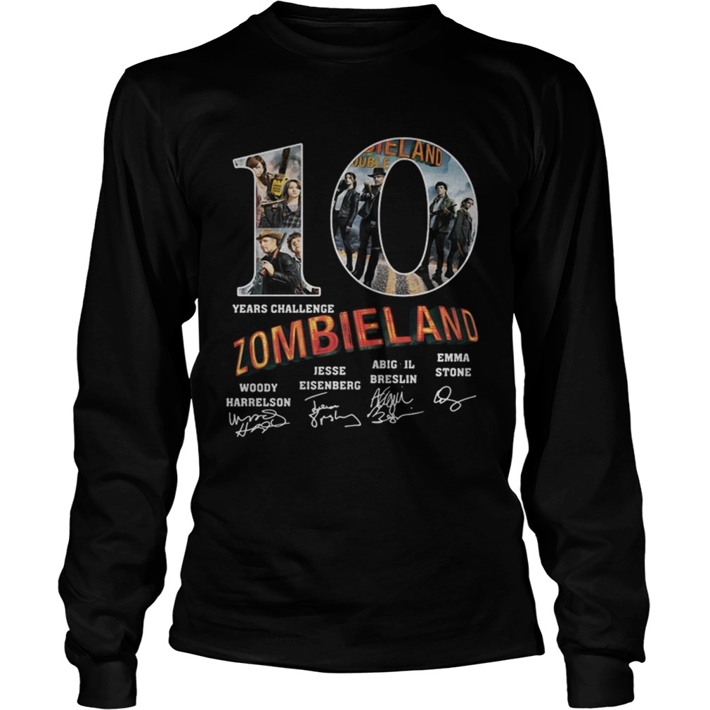 10 year challenge Zombieland anniversary LongSleeve