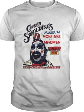 Captain Spauldings Museum Monsters And Madmen Shirts
