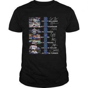 Dodgers all Players signature  Unisex