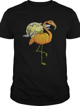 Flamingoween Cool Halloween Flamingo Bird TShirt