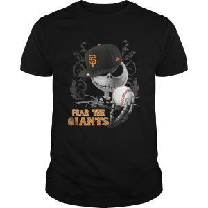 Jack Skellington Fear The San Francisco Giants  Unisex