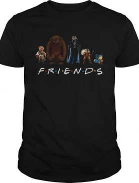 Labyrinth Characters Horror Friends Tv Show shirt