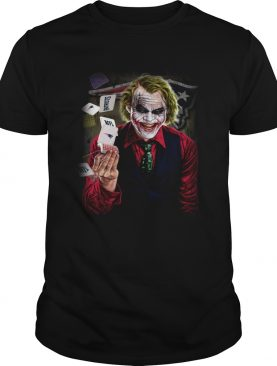 New England Patriots Joker Poker Shirt