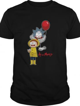 Pennywise and Morty friends shirt