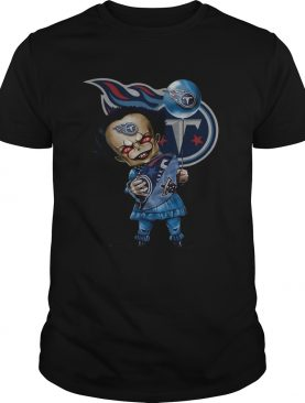 Pennywise hugging Tennessee Titans shirt