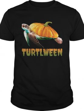 Turtlween Funny Halloween Pumpkin Turtle Lovers Shirt