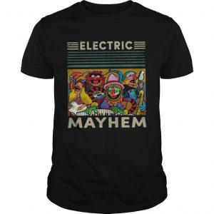 Vintage Muppets Electric Mayhem shirt
