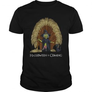 Witch Brooms Throne Funny HalloweenTShirt