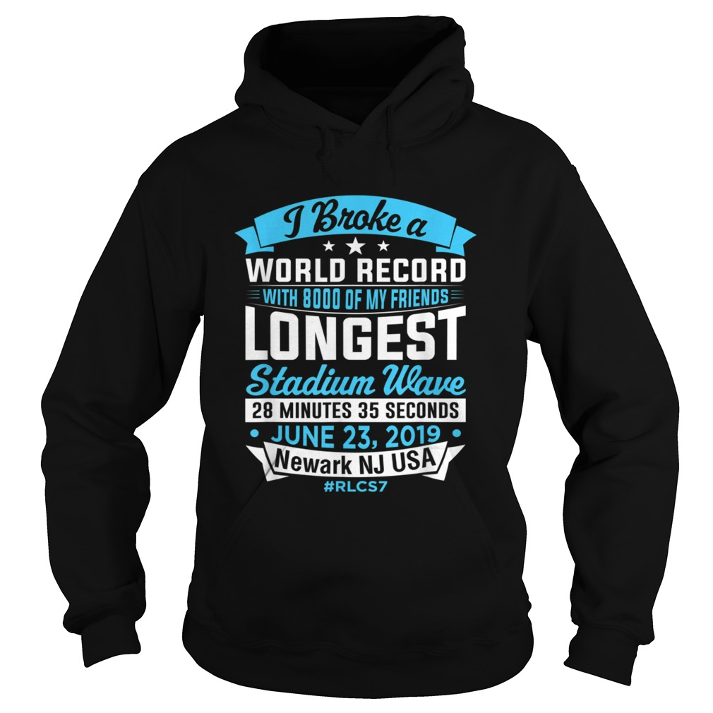 World Record Longest Stadium Wave T Shirt Hoodie