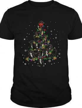 Black Cockapoo Christmas Tree TShirt