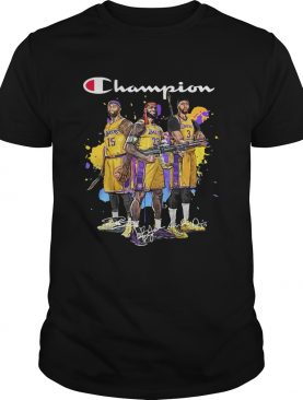 Champions DeMarcus Cousins Lebron James Anthony Davis shirt