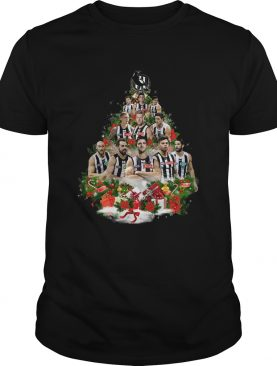Collingwood player christmas tree shirt