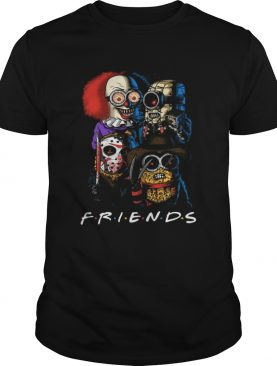 Friends Minions horror movie characters shirt