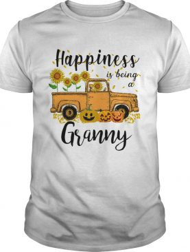 Halloween Car Pumpkin Happiness Is Being A Granny TShirt