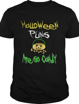 Halloween Puns Are So Corny Funny Candy Corn shirt