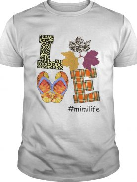 Halloween Women Mom Love Mimilife Mimi Life TShirt