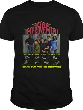 Home Improvement thank you for the memories shirt