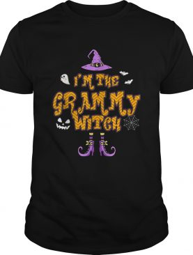 Im The Grammy Witch Group Costume Halloween shirt