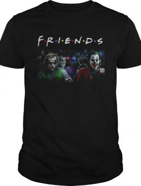 Jack Nicholson Heath Ledger Jared Leto and Joaquin Phoenix friends tv show shirt