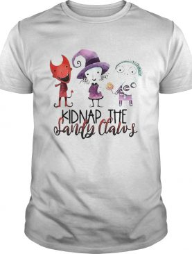 Kidnap the sandy claws shirt