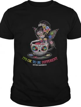 Teacup Girl Autism its ok to be different shirt