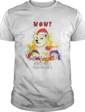 Very Sparkle Much Presents Doge Christmas TShirt