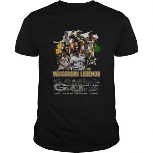 Wisconsin Legends Green Bay Packers signatures  Unisex