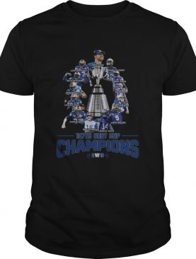 107th Grey Cup Blue Bombers Players Champions 2019 shirt