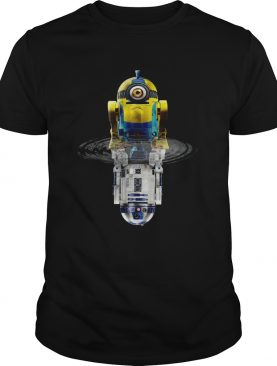 Minions R2-D2 Star Wars Water Reflection Shirt