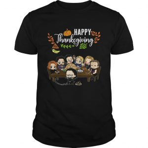 Avengers chibi characters happy thanksgiving  Unisex