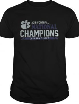 Clemson Tigers football 2016 National Champions shirt