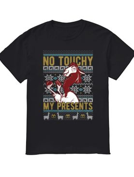 Disney Emperor's New Groove Kuzco No Touchy Ugly Christmas shirt