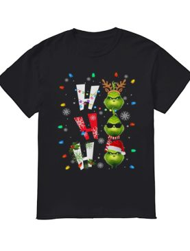 Ho Ho Ho Merry The Grinch Christmas shirt