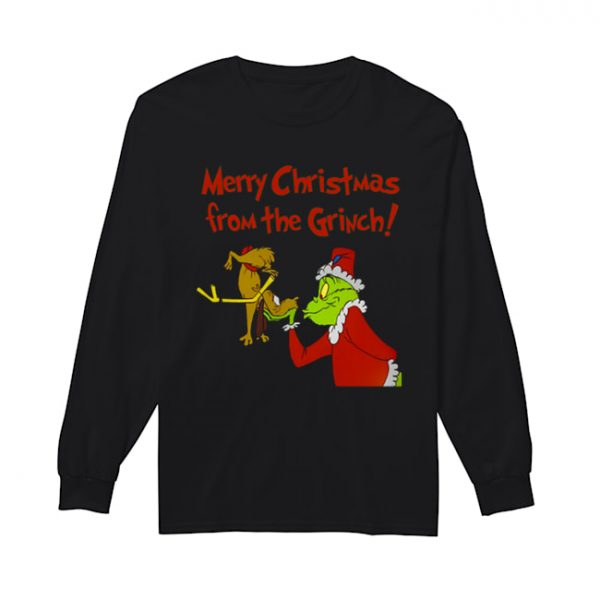 How The Grinch Stole Christmas Classic Cartoon Graphic  Long Sleeved T-shirt