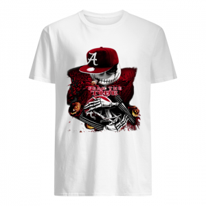 Jack Skellington Fear the Tide Alabama Crimson Tide  Classic Men's T-shirt
