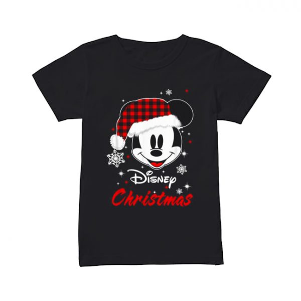 Mickey Mouse Santa Disney Christmas  Classic Women's T-shirt