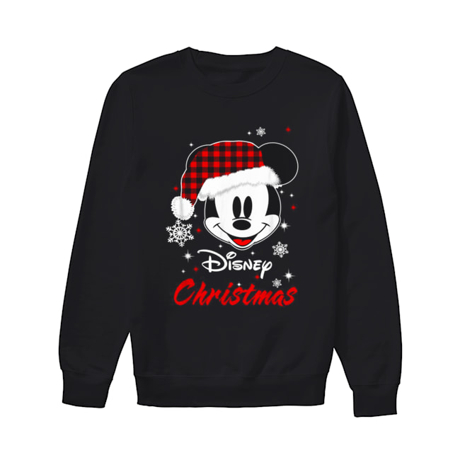 Mickey Mouse Santa Disney Christmas Unisex Sweatshirt