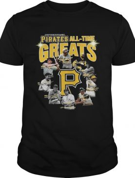 Pittsburgh Pirates all time great players signatures shirt