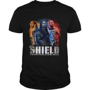 Seth Rollins Roman Reigns Dean Ambrose The Shield Justice For All Shirt Unisex