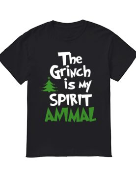 The Grinch Is My Spirit Animal Funny Grinch Stole Christmas shirt
