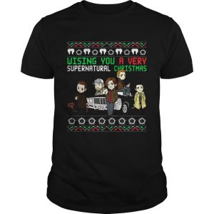 Wishing You A Very Supernatural Christmas  Unisex