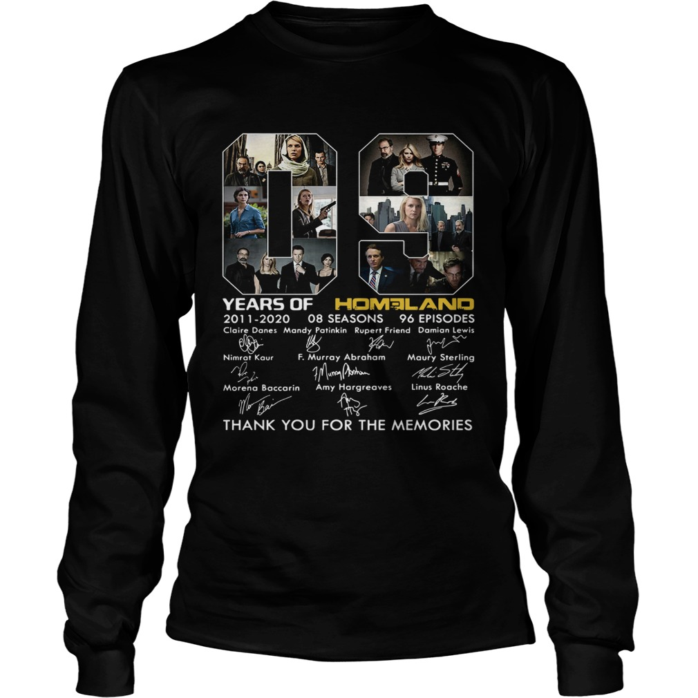 09 Years of Homeland thank you for the memories LongSleeve